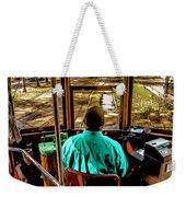 Trolley Driver In New Orleans Weekender Tote Bag