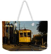 Trolley Ride Weekender Tote Bag
