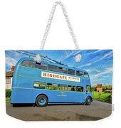 Trolleybus 862 Weekender Tote Bag