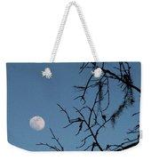 Trompe L Oeil Moon Weekender Tote Bag
