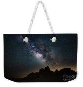 Trona Pinnacles Galactic Core Weekender Tote Bag
