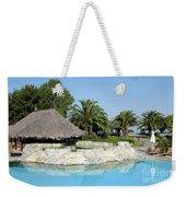 Tropic Bar Vacation Summer Scene Weekender Tote Bag