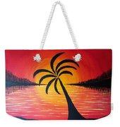 Tropic Of Palms Weekender Tote Bag