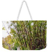 Tropical Bamboo Weekender Tote Bag