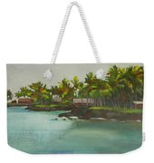Tropical Bay Weekender Tote Bag