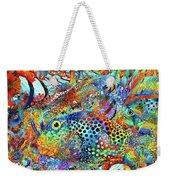 Tropical Beach Art - Under The Sea - Sharon Cummings Weekender Tote Bag