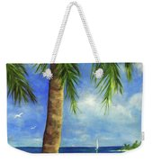 Tropical Beach One Weekender Tote Bag