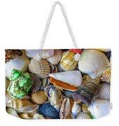 Tropical Beach Seashell Treasures 1550b Weekender Tote Bag