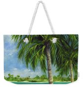 Tropical Beach Two Weekender Tote Bag