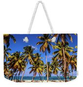 Palms On The Beach Weekender Tote Bag
