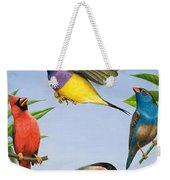 Tropical Birds Weekender Tote Bag