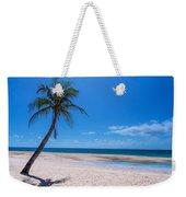 Tropical Blue Skies And White Sand Beaches Weekender Tote Bag