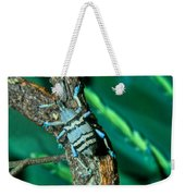 Tropical Blue Weevil Weekender Tote Bag