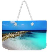 Tropical Blues Weekender Tote Bag