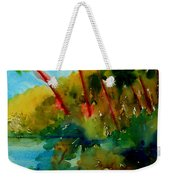 Tropical Canal Weekender Tote Bag