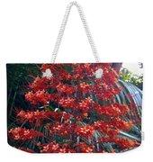 Tropical Christmas Weekender Tote Bag