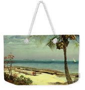 Tropical Coast Weekender Tote Bag