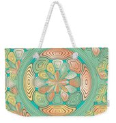 Tropical Color Abstract Weekender Tote Bag