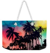 Tropical Colors Weekender Tote Bag