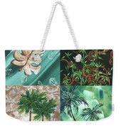 Tropical Dance Square By Madart Weekender Tote Bag