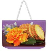 Tropical Delight Still Life Weekender Tote Bag