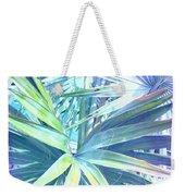Tropical Dreams In Pastel Purple-blue Weekender Tote Bag