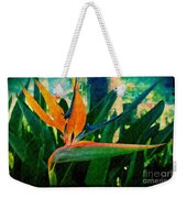 Tropical Eden Weekender Tote Bag