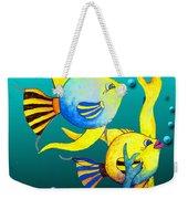 Tropical Fish Fun Weekender Tote Bag