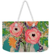 Tropical Flair Weekender Tote Bag