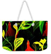 Tropical Flock Weekender Tote Bag