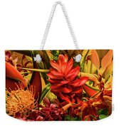 Tropical Flowers Weekender Tote Bag
