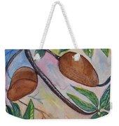 Tropical Fruit Mamey Weekender Tote Bag