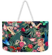 Tropical Fun Sexy  Weekender Tote Bag