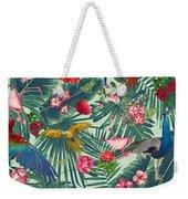 Tropical Fun Time  Weekender Tote Bag