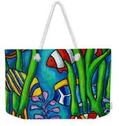 Tropical Gems Weekender Tote Bag by Lisa  Lorenz