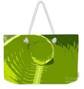 Tropical Green Weekender Tote Bag