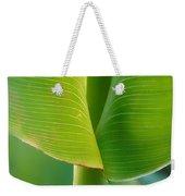 Tropical Green Weekender Tote Bag