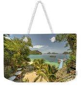 Tropical Harbour Weekender Tote Bag