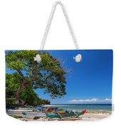 Tropical Island Panorama Paradise Weekender Tote Bag