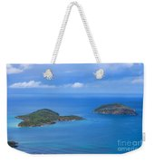 Tropical Islands In The Caribbean Sea Weekender Tote Bag