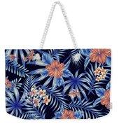 Tropical Leaf Pattern 4 Weekender Tote Bag