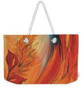 Tropical Lilies Weekender Tote Bag