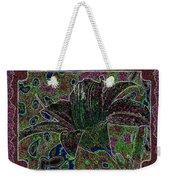 Tropical Lily 3 Weekender Tote Bag