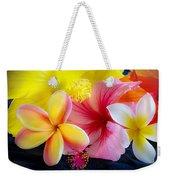 Tropical Melange Weekender Tote Bag