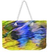 Tropical Mosaic Abstract Art Weekender Tote Bag