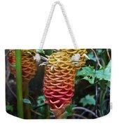 Tropical Mystery Plant Weekender Tote Bag
