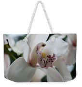 Tropical Orchid Weekender Tote Bag