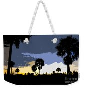 Tropical Palms Work Number Two Weekender Tote Bag