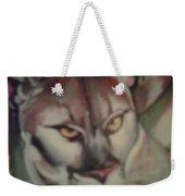 Tropical Panther Weekender Tote Bag
