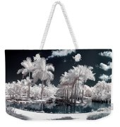 Tropical Paradise Infrared Weekender Tote Bag
